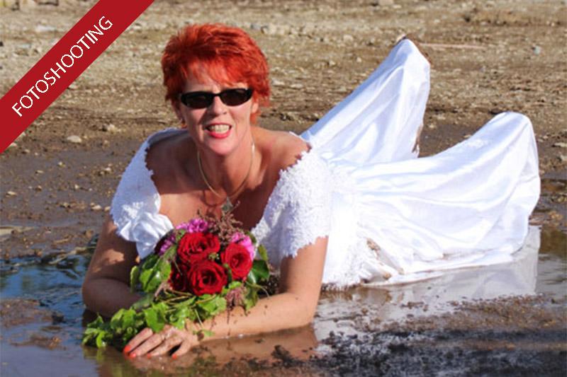 Wir trashen eine Braut