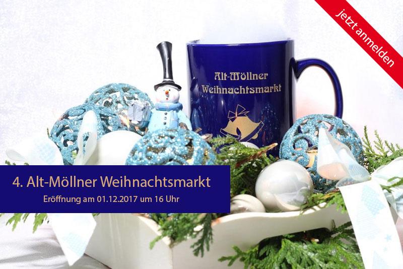 Alt-Möllner Weihnachtsmarkt 2017