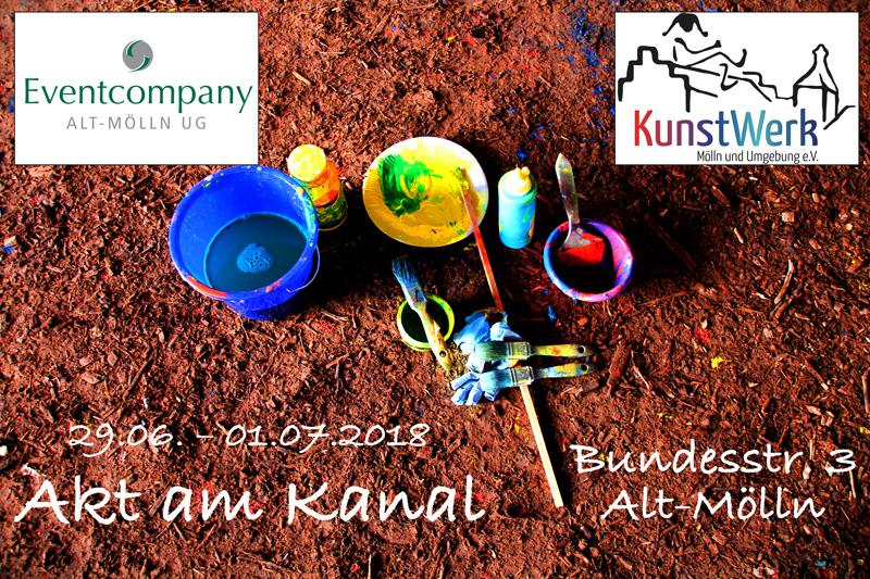 """Kultursommer 2018 """"Akt am Kanal"""" update"""