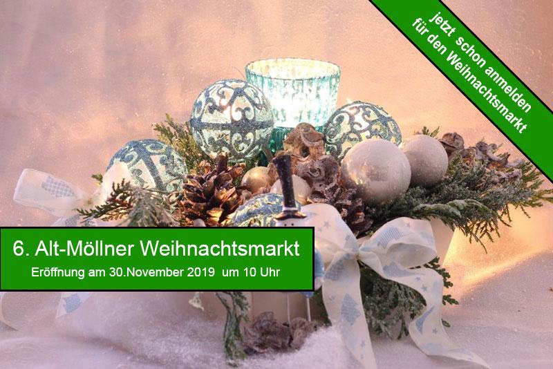 Alt-Möllner Weihnachtsmarkt 2019 (Update)